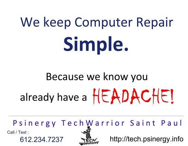 We keep Computer Repair Simple.
