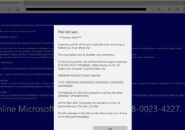 Microsoft Support Scams are on the rise again! This time they're trickier.