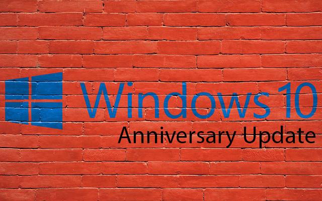 Windows 10 Anniversary Update issues